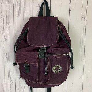 Kipling backpack | maroon burgundy bag